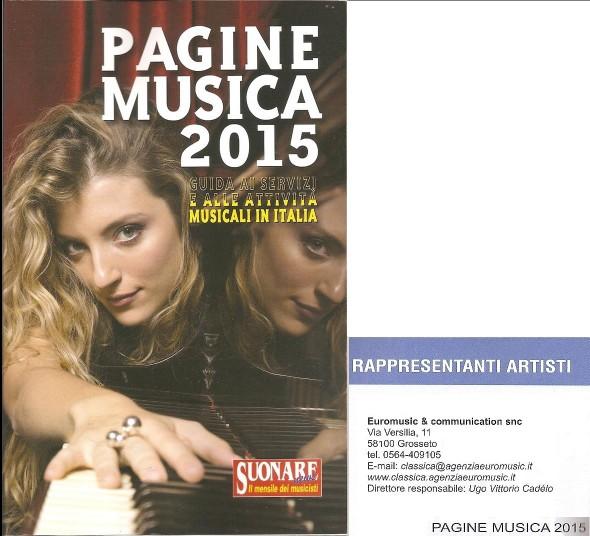 Pagine Musica 2015