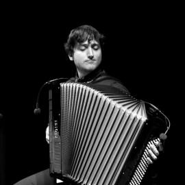 Raffaele Damen e il suo strumento