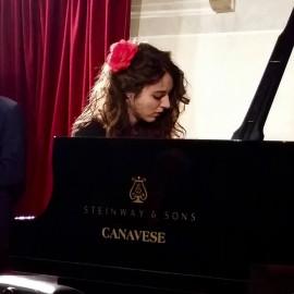 Fiamma Velo al piano